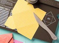 Envelope Punch Board / Mit dem Envelope Punch Board (Stanz- und Falzbrett für Umschläge) könnt ihr nicht nur Briefumschläge kreieren!  / by Stampin' Up! Deutschland / Österreich