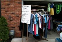 Garage sale / by Sarah Michelle T