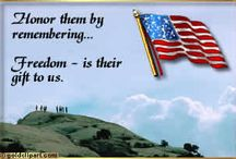 America ✰ Military / I am most grateful for the 5 branches of our military. Innumerable lives have been sacrificed,blood shed, lives forever altered in order to protect and maintain our liberty & freedom. There are vast numbers of men & women that have lived up to the high standard of their oath of which brings honor to them & our country. Also, and most sadly, there are those that have brought disgrace to the uniform, their branch & the country they pledged to protect. I've chosen to 'pin' only the honorable! / by Carole B. Strumsky