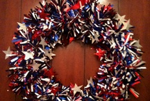 fourth of july crafts / by Derrill Kinman