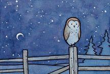 Owls! / by Michelle Sprunger