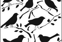 Stencils / by Stitch and Sparkle