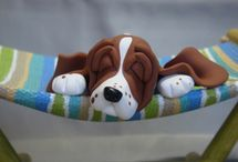 Sculptures of Dogs in Clay and more / Awesome canine art / by MagicByLeah