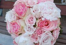 Pink Wedding Bouquets / by Married In Milwaukee