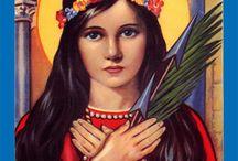 Catholic Saints / catholic = universal Christian in Latin / by jo jo