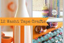 Washi Tape Craft ideas / by Jenny Stern