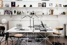 OFFICE / if i was to own an office these would be my ideal interiors. / by Jade Barltrop