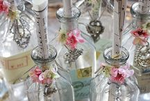BOTTLES  AND JARS / by ♪♫♥ CHARITY CRAFTER ♪♫♥