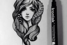 Drawings / by Marcella Estrada
