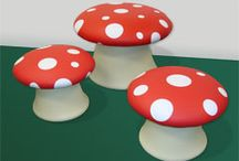 Mushrooms / by Laura Major@Learning Is Child's Play