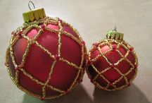 Beaded ornaments / by Diana Rehfield