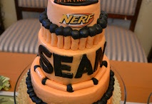 nerf birthday party / by Lisa Young
