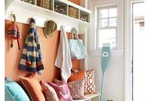 Ideas for the mudroom / by Manuela Medeiros