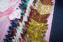 Great ways to use scrap fabric! / by Pamela Boatright