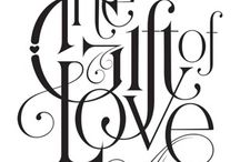 lettering / by Kate Shalajeva