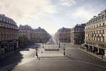 Stedelijke landschappen en locaties / by Peter Ruiter