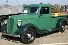 Vintage Trucks / by True North Interior Design & Antiques, Dan & CJ Zondervan