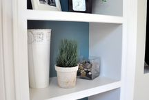 Built Ins / Bookcases / by Linda Cutler
