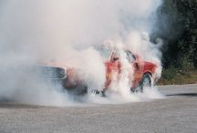 Burnouts , flAmes and wheelies!!!!!! / by Tina