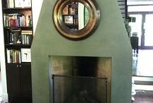Fireplace / by Gail Kepler