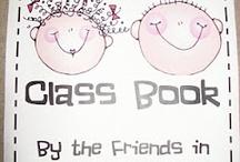 preschool class books / by Sabra York