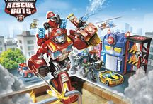 Rescue Bots and other birthday party ideas / by Phylicia Bernard