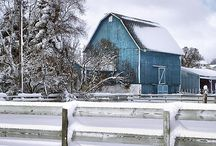 barns / by jamie hahn