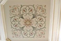 Stenciled Ceilings / by StencilSearch
