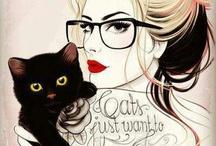 CATS CATS CATS / by Sara Robocop