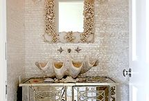 Bathrooms- Master and guest / by Nancy Heard