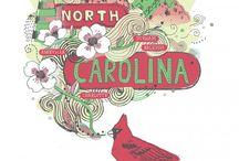 North Carolina / My state / by Janna Jones