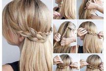 hair, nails, eyeshadow / by peyton lut