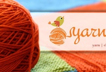 Yarn's End: Inspiration / A fabulous new knitting shop located on the South Shore in Massachusetts. Coming soon! Design in progress! / by Linda Merrill Decorative Surroundings