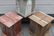 Barnwood Wedding Card Boxes / by The Perfect Card Box