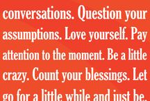 Quotes / by Linda Minor