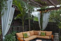 Garden / patio / by Kim DeBenedetto