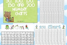 Math : Number Charts / by Joelle Cooper