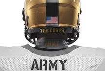 Army and Navy's Nike Uniforms for the Army-Navy Game presented by USAA / by Army Navy Game
