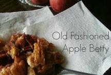 Fall recipes / by Melinda Franklin