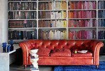 Color Coded Bookshelves / by Bookshelf Porn