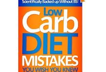Low carb diet and recipes / by Jason McLean