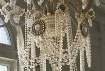 chandeliers! / by Stephani Chandler