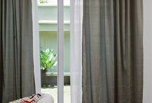 ideas puerta, ventanas, cortinas / by Chelo G B