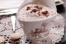 Capuchino y latte / by Cafés Miñana