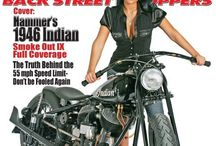 The Horse BC: Issue #81 - September 2008: Hammers 1946 Indian / by The Horse Back Street Choppers Magazine