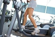 Exercise on a stairmaster/elliptical / by Jennifer Cherry