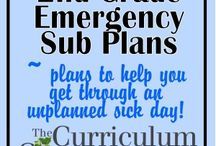 Sub Plans / by Courtney Gathright Meeker