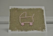 Burlap & Button Cards / by Wee Little Changes, LLC