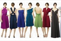 Twist Wrap Bridesmaid Dress! / This dress gives you endless possibilities for versatility!  Cap Sleeve, Halter, One Shoulder, Twist-Front Halter, Sleeves and Strapless!  Feeling creative? style the dress in your own personalized style! / by Avenue 22