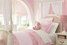 Girls Bedroom / by Jennifer Carroll @ Celebrating Everyday Life